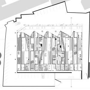 Four Facades, plan